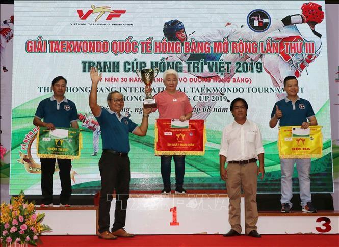 3. Internationaler Taekwondo-Wettbewerb Hong Bang Open abgeschlossen - ảnh 1
