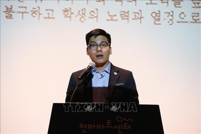 12. Sportfestival des vietnamesischen Studentenverbands in Südkorea verbindet vietnamesische Studenten - ảnh 1