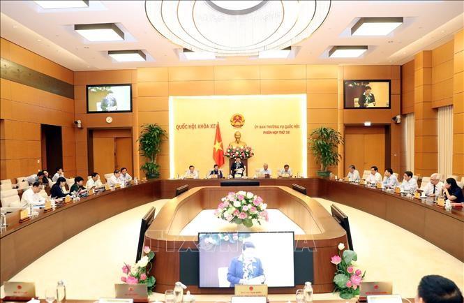 36. Sitzung des Ständigen Parlamentsausschusses eröffnet - ảnh 1