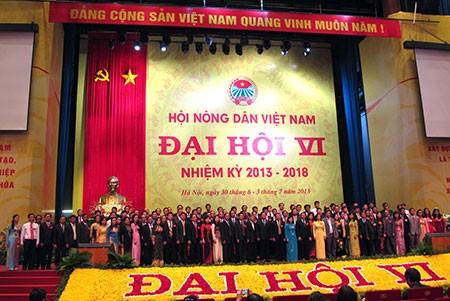 Kongres Nasional ke-6 Himpunan Tani Vietnam berakhir - ảnh 1