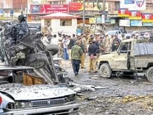 Serangan bom di Pakistan memakan 50 korban - ảnh 1