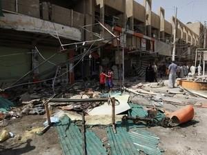 Serangan bom terjadi di seluruh wilayah Irak - ảnh 1