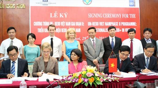 Bantuan sebanyak USD 30 juta untuk membantu Vietnam menghadapi perubahan iklim tahap 2 - ảnh 1