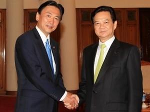 PM Nguyen Tan Dung menerima Ketua Komite Kepolisian Nasional Jepang, Keiji Furuya - ảnh 1