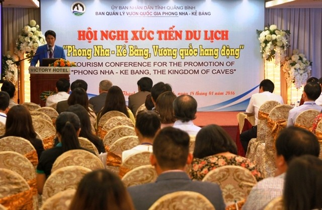 "Melakukan promosi pariwisata ""Phong Nha – Ke Bang – Kerajaan Gua"" - ảnh 1"