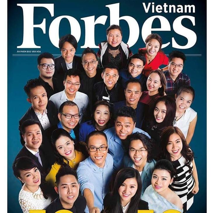 Majalah Forbes Vietnam mengumumkan 30 orang tipikal yang berusia kurang dari 30 tahun pada tahun 2016 - ảnh 1