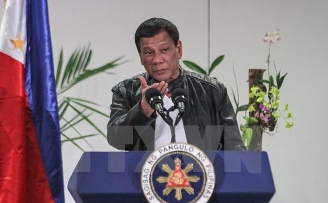 Masalah antiterorisme: Presiden Filipina memerintahkan tentara membasmi kaum pembangkang - ảnh 1