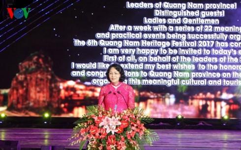 Penutupan Festival ke-6 Pusaka Quang Nam tahun 2017 - ảnh 1