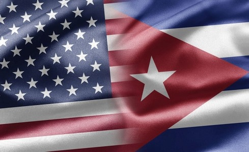 Presiden AS mengumumkan kebijakan baru terhadap Kuba - ảnh 1
