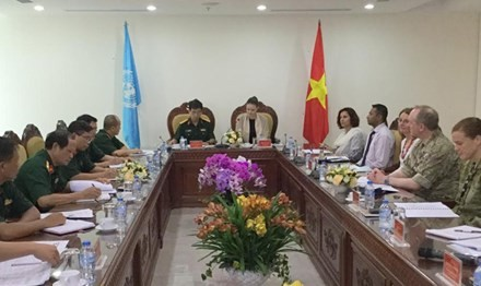Vietnam bersedia berpartisipasi pada perutusan-perutusan penjaga perdamaian PBB - ảnh 1