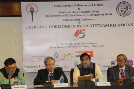 Lokakarya internasional memperingati ultah ke-45 Hari penggalangan hubungan diplomatik Vietnam-India - ảnh 1