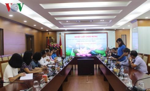Memperkuat kerjasama antara VOV dan Majalah Alunmay (Laos) - ảnh 1