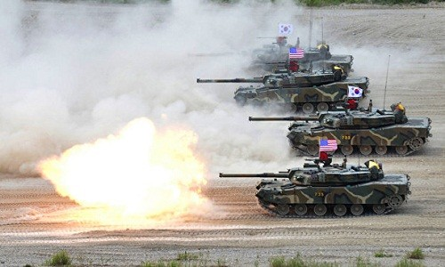 RDRK memperingatkan akan memberikan balasan keras atas latihan perang AS-Republik Korea - ảnh 1