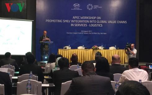 SOM 3 – APEC 2017: Mendorong badan usaha ikut serta dalam rantai pemasokan jasa logistik global - ảnh 1