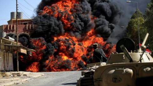 Pasukan-pasukan Irak merebut kemenangan besar di Kota Tal Afar - ảnh 1