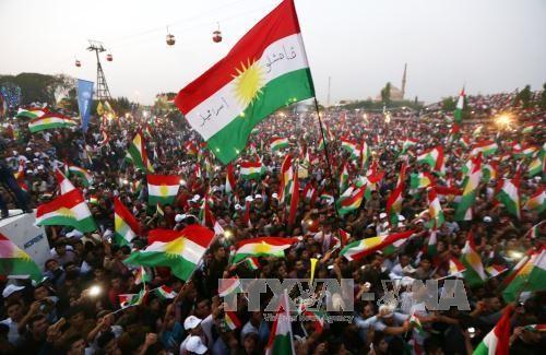 Pengadilan Irak memerintahkan menangkap orang-orang yang mengadakan referendum orang Kurdi - ảnh 1
