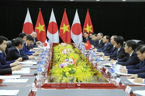 Presiden Vietnam, Tran Dai Quang menerima pemimpin perekonomian-perekonomian APEC - ảnh 2