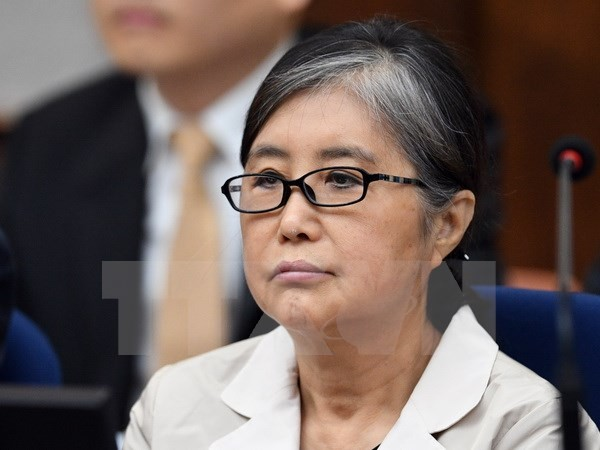 Pengadilan Republik Korea tidak mengubah vonis hukuman terhadap kroni Presiden Park Geun-hye - ảnh 1