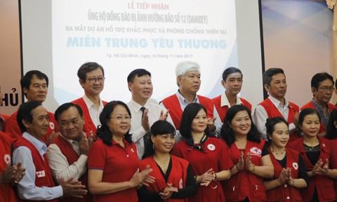 Peluncuran Proyek berfokus mengatasi dan menanggulangi bencana alam untuk daerah Vietnam Tengah - ảnh 1