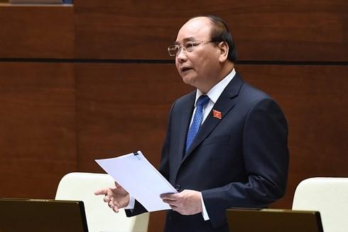 PM Vietnam, Nguyen Xuan Phuc menjawab interpelasi - ảnh 1
