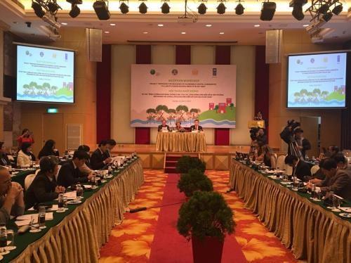 Memperkuat kemampuan menghadapi perubahan iklim untuk komunitas masyarakat rentan di daerah pesisir Vietnam - ảnh 1