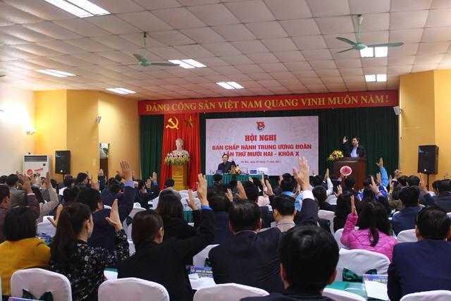 Pembukaan Konferensi ke-12 Pengurus Besar Liga Pemuda Komunis Ho Chi Minh angkatan X - ảnh 1