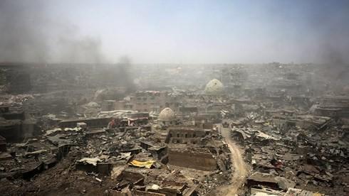 Terjadi serangan bom bunuh diri di Irak sehingga mengakibatkan sejumlah besar korban - ảnh 1