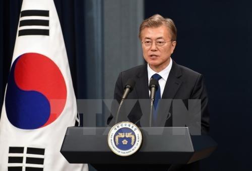 """Presiden Republik Korea:  Pertemuan puncak AS-RDRK akan menjadi """"tonggak bersejarah"""" - ảnh 1"""