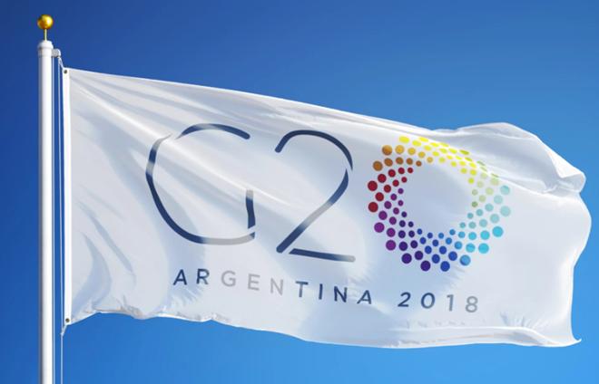 Acara pembukaan konferensi Menteri Keuangan G-20 di Argentina - ảnh 1