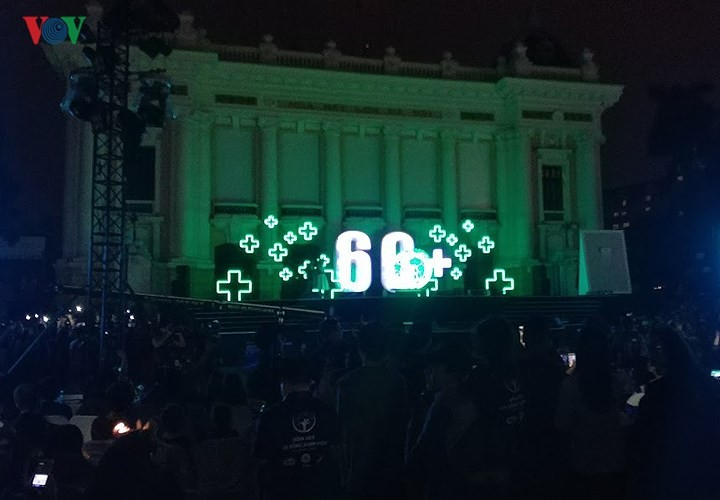 "Vietnam aktif menyambut Kampanye Jam Bumi: ""Hari ini saya hidup secara lebih hijau"" - ảnh 1"