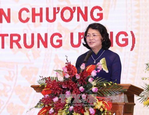 Wapres Vietnam, Dang Thi Ngoc Thinh memimpin sidang Dewan Kompetisi  dan  Pemberian Penghargaan Pusat - ảnh 1