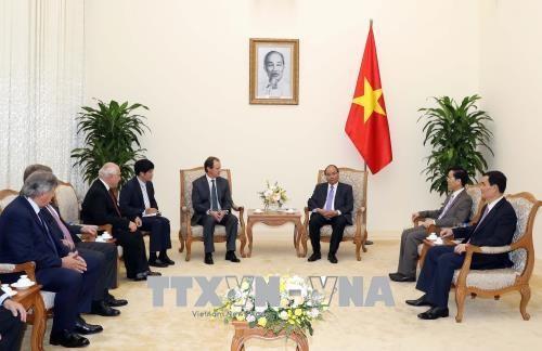 PM Vietnam, Nguyen Xuan Phuc menerima delegasi pimpinan tiga provinsi di Argentina Tengah - ảnh 1