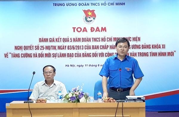Solusi untuk membantu Liga Pemuda Komunis Ho Chi Minh ikut serta secara efektif dalam pekerjaan penggerakan massa rakyat pada waktu mendatang - ảnh 1