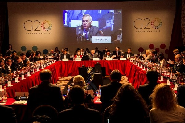 Para Menteri Energi G-20 mengadakan pertemuan di Argentina - ảnh 1
