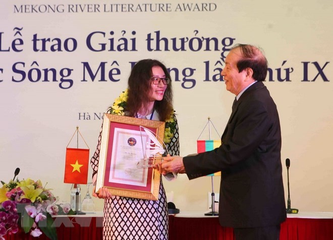 Sebanyak 12 karya terbaik mendapat Penghargaan Sastra Sungai Mekong kali ke-9 - ảnh 1