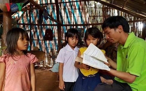 Membawa 1.001 perpustakaan ke dukuh di daerah pedalaman - ảnh 2