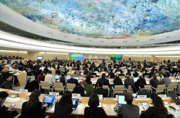 Pembukaan persidangan periodik ke-38 Dewan HAM PBB - ảnh 1