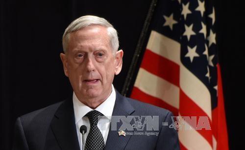 "AS menghentikan ""tanpa batas waktu"" latihan-latihan perang gabungan yang bersifat selektif dengan Republik Korea - ảnh 1"