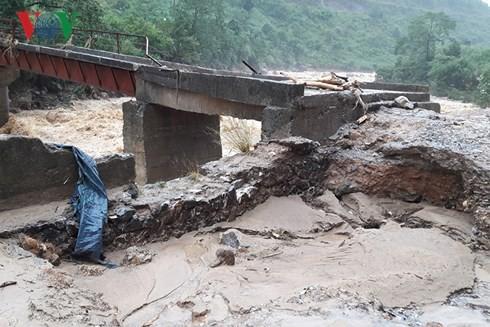 Provinsi-provinsi di daerah pegunungan di Viet Nam Utara mengatasi akibat hujan dan banjir - ảnh 1