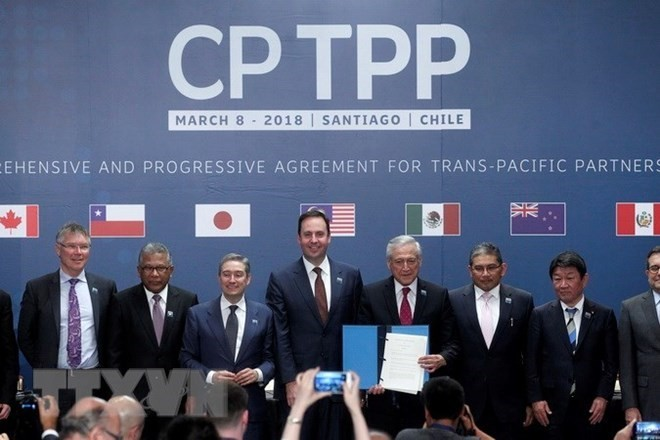 Parlemen Jepang mengesahkan UU mengenai penyelesaian prosedur-prosedur tentang CPTPP - ảnh 1