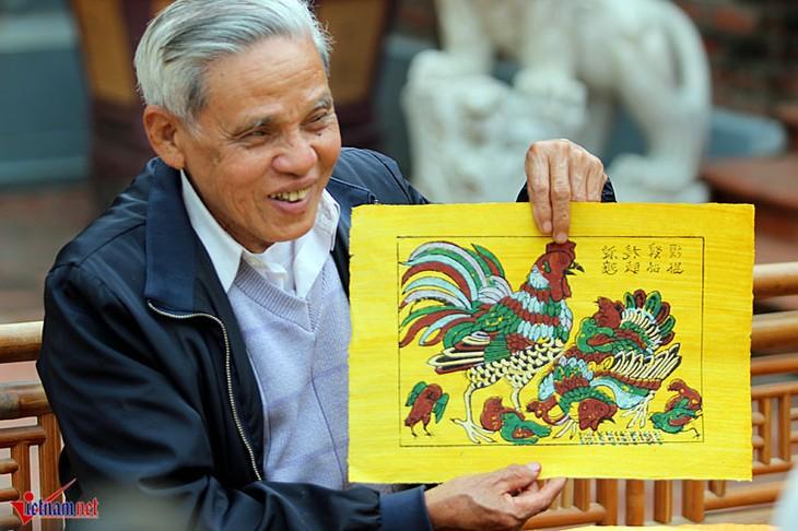 Membuat dokumen tentang kerajinan lukisan rakyat Dong Ho untuk disampaikan kepada UNESCO - ảnh 1