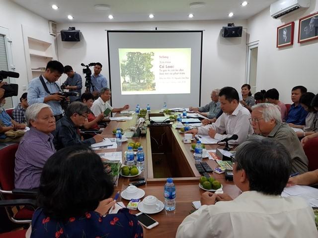 Membawa situs peninggalan sejarah Benteng Co Loa menjadi aksentuasi wisata di Ibukota Ha Noi - ảnh 1