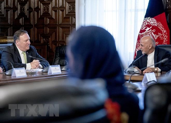 AS dan Afghanistan berkomitmen akan bekerjasama demi perdamaian - ảnh 1