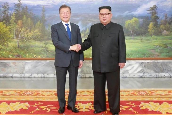 Media RDRK menekankan makna dari pernyataan mengakhiri perang Korea - ảnh 1