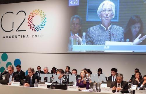 G20 mengimbau untuk mendorong perdagangan multilateral - ảnh 1