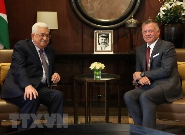Jordania mengimbau kepada AS dan komunitas internasional supaya mendorong proses perdamaian Israel-Palestina - ảnh 1
