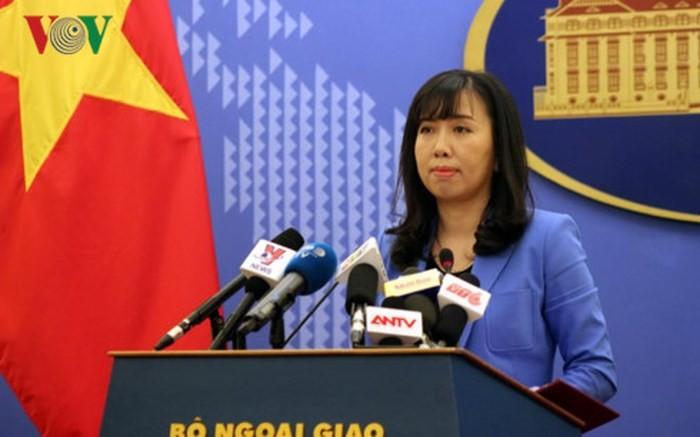 """Reaksi Viet Nam terhadap aktivitas-aktivitas yang dilakukan Tiongkok baru-baru ini sehubungan dengan peringatan ultah ke-6 apa yang dinamakan sebagai """"Kota Sansha"""" - ảnh 1"""