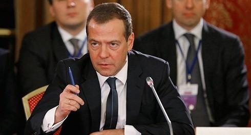 Rusia menganggap sanksi-sanksi yang dikenakan AS sebagai pernyataan perang ekonomi - ảnh 1