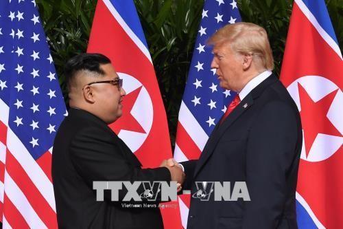 Presiden AS, Donald Trump menyinggung kemungkinan bertemu kembali dengan Pemimpin RDRK - ảnh 1