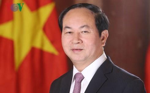 Presiden Viet Nam, Tran Dai Quang mulai melakukan kunjungan Kenegaraan di Etiopia dan Mesir - ảnh 1